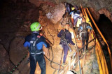 Thai cave rescue LIVE: Four more boys pulled out, operation ends for the day