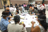 "Club 24 Members Experience ""Dining in the Dark"" at the Lighthouse"