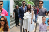Neha Dhupia's baby shower: Karan Johar, Preity Zinta, Ileana D'Cruz and others spotted at the event