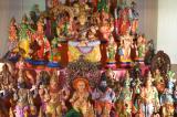 Golu Figurines at MTS Relate the Festive Legends of Navaratri