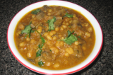 Mama's Punjabi Recipes- Soya Bean Te Khumban di Sabzi  (SOYA BEAN & SAUTEED MUSHROOMS)