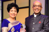 Asia Society Texas Center Honors  Marie and Vijay Goradia with 2018 Huffington Award