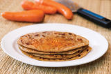 Mama's Punjabi Recipes: Gajjar da Parantha  (Carrot Stuffed Crispy Flatbread)