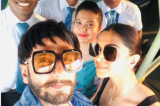 Photos: Newlyweds Ranveer Singh and Deepika Padukone are back from their honeymoon