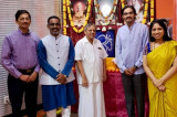 Dr. H. R. Nagendra Dedicates S-VYASA's New  Houston Yoga Center