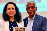 Honor for Pratham Houston President Asha Dhume