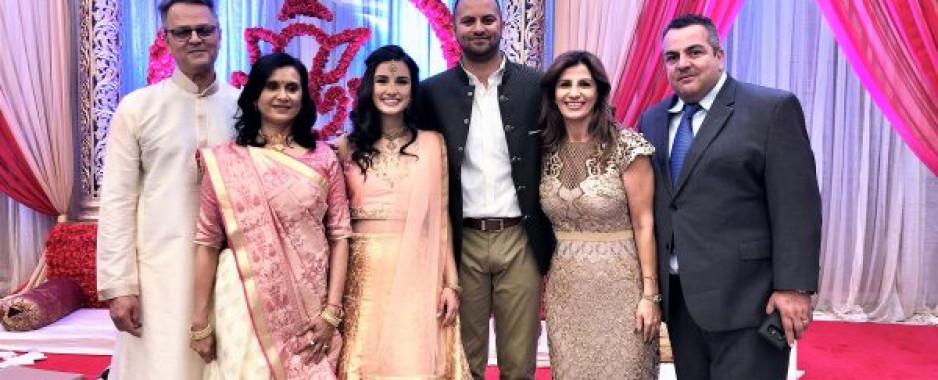 Nikit Bhatt  Marries Natasha Noun