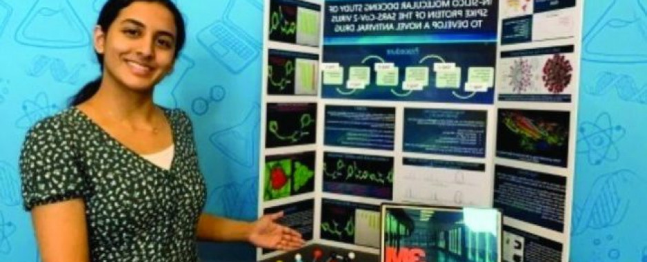 Teen's Covid-19 Project Wins $25K 3M Challenge