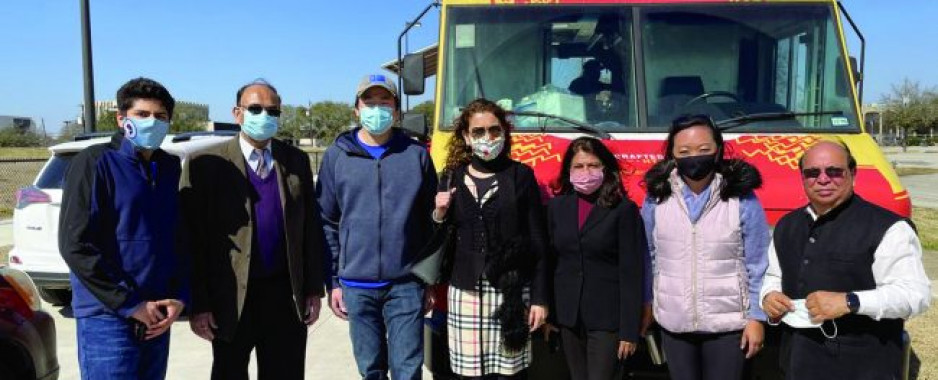 Community Organizations Help Houstonians Recover from Deep Freeze