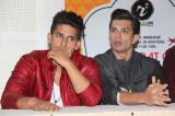 Karan Singh Grover kick-starts his third Bollywood film with Jamai Raja's Ravi Dubey- view pics!