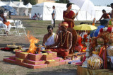 Temples Come Together to Celebrate 'Kumbh Mela USA'