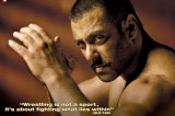 Here's why Salman Khan is forced to hurt himself!