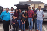 Vishwa Hindu Parishad of America: Houston Chapter Celebrates Thanksgiving with Bhutanese Refugees at Los Arcos Apartments