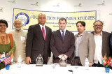 FIS Lecture Series on India-Israel Relations Features CGs of Both Countries