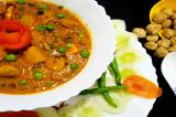 Mama's Punjabi Recipes: Soyabean di Wadiyan te Mutter di Turri  (Soyabean Dumpling & Peas Curry)