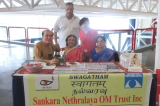 Sankara Nethralaya OM Trust Booth at Telagana Convention