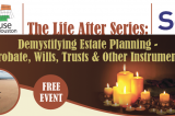 India House/SOS Continues the Life After Seminar Series: Demystifying Probate, Wills, Trusts & Other Planning Instruments