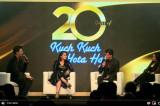 Reunion of the Kuch Kuch Hota Hai cast   Karan Johar   Shah Rukh Khan   Kajol   Rani