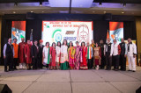 Sunny Day Brings Out Many to Celebrate India's Republic Day