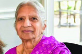 Serene Lady Champaben Gandhi Slips Away Quietly and Quickly on Her 82nd Birthday