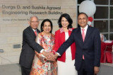 Durga D. and Sushila Agrawal Engineering Research Building is Dedicated
