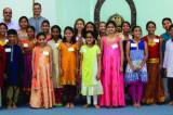 Chinmaya Mission Bala Vihar Children Chant the Bhagavad Gita with Utmost Faith