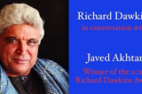 Richard Dawkins to Honor Javed Akhtar for Secularism