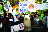 Sikhs Protest New Indian Agriculture Laws Outside the Indian Consulate in Houston
