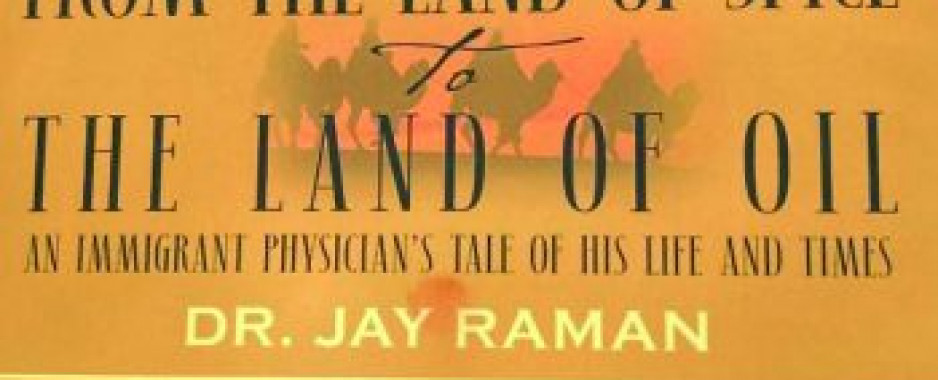 Dr. Jaya Raman Publishes His Autobiography