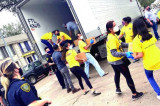 Sewa International Distributes 260,000 lbs of Food, Water in Houston