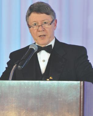 Harris County Judge Ed Emmett was the keynote speaker at the 2013 India House gala.
