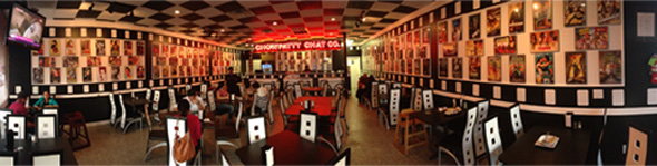 Panoramic View of Chowpatty chat  interiors Photo : Vanshika Vipin