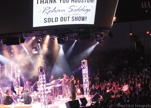 A sold out Adnan Sami show.