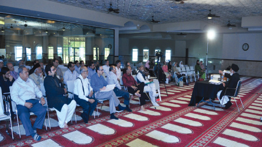Audience enjoying Urdu Ka Safar workshop.Photos: Hassan Studio