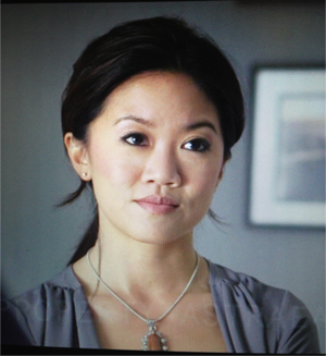 Steffinnie plays Julia, Ray's law partner.