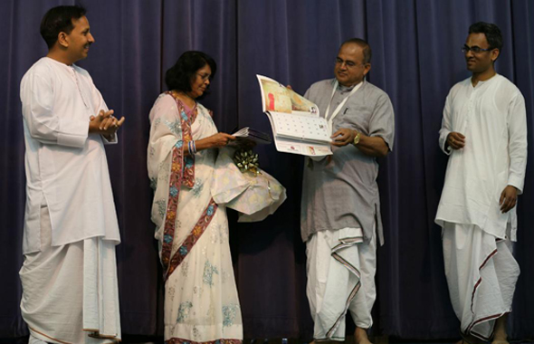 Inauguration of Children Art Calendar