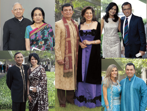 A few of the members of the desi community who attended the Asia Society's Tiger Ball 2013 on Friday, April 26.
