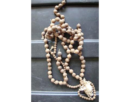 Mahatma Gandhi's will, prayer beads, and a shawl he had woven and worn consistently during the non-cooperation movement, are being auctioned by Mullock's Auctioneers in the United Kingdom May 21. (photo courtesy of Mullock's). Read more at http://www.indiawest.com/news/10866-gandhi-s-blood-prayer-beads-to-be-sold-at-u-k-auction.html#saBWhpDVp59DsQ1t.99