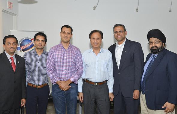 From Left: Pankaj Dhume, Pankaj Malani, Gaurav Khandelwal, Dr. Arun pasrija, Sunil Shenoy, Jagdip Ahluwalia.            Photo: Bijay Dixit
