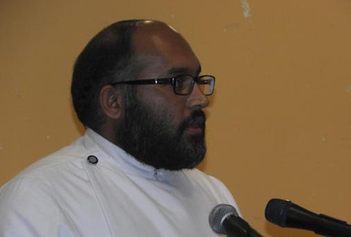 Re. Roy Thomas of the Mar Thoma Church.