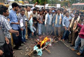 telangana fight