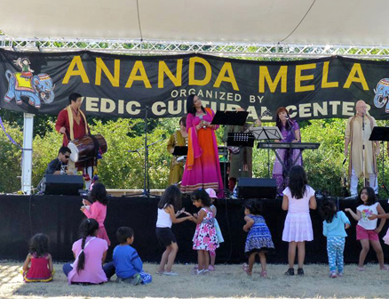 Latha Sambamurti and her band Chai Tea Latte performing at Ananda Mela. Read more at http://www.indiawest.com/news/12852-vedic-cultural-center-hosts-4th-annual-ananda-mela.html#BFS5bviBRHwXTwbw.99