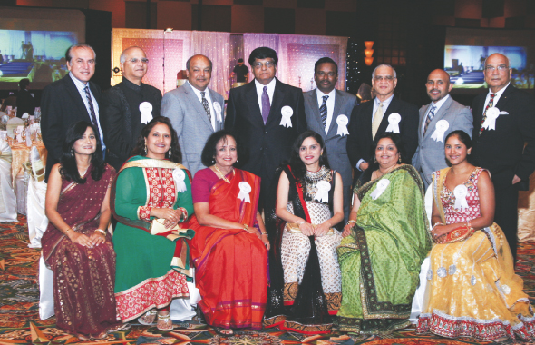 The 2013 IACF Board poses before the Gala.