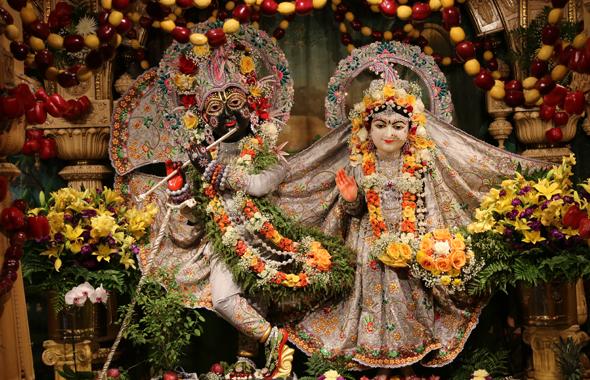 Sri Sri Radha NilaMadhava on Radhastami Photos: K R Thejas & Nagalla Nagaraj
