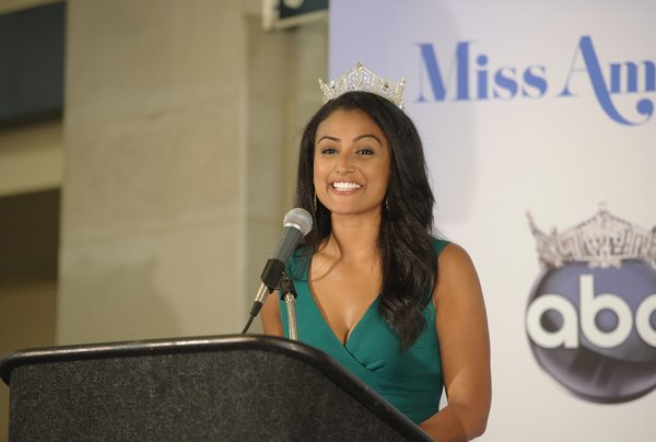 Nina Davuluri, the new Miss America. (Michael Loccisano / Getty Images)