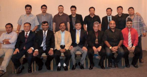 NAH Executive Members