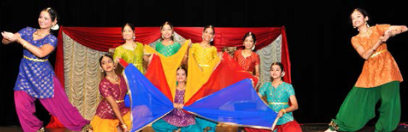 Dance Presentation (one of 30 items performed in the spirit of Diwali) by Clear Lake & Surrounding Indian community Youth