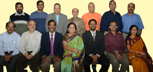 The newly elected board.