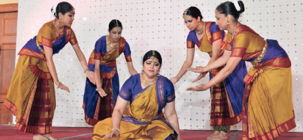 Padmini Chari performing special dance entitled 'The Dancing Feat'
