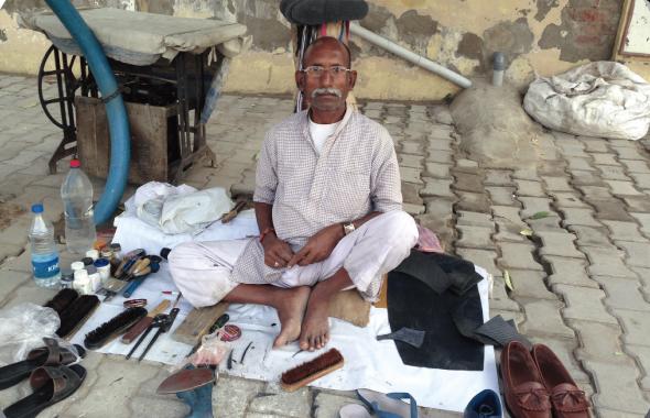 The moochi or cobbler